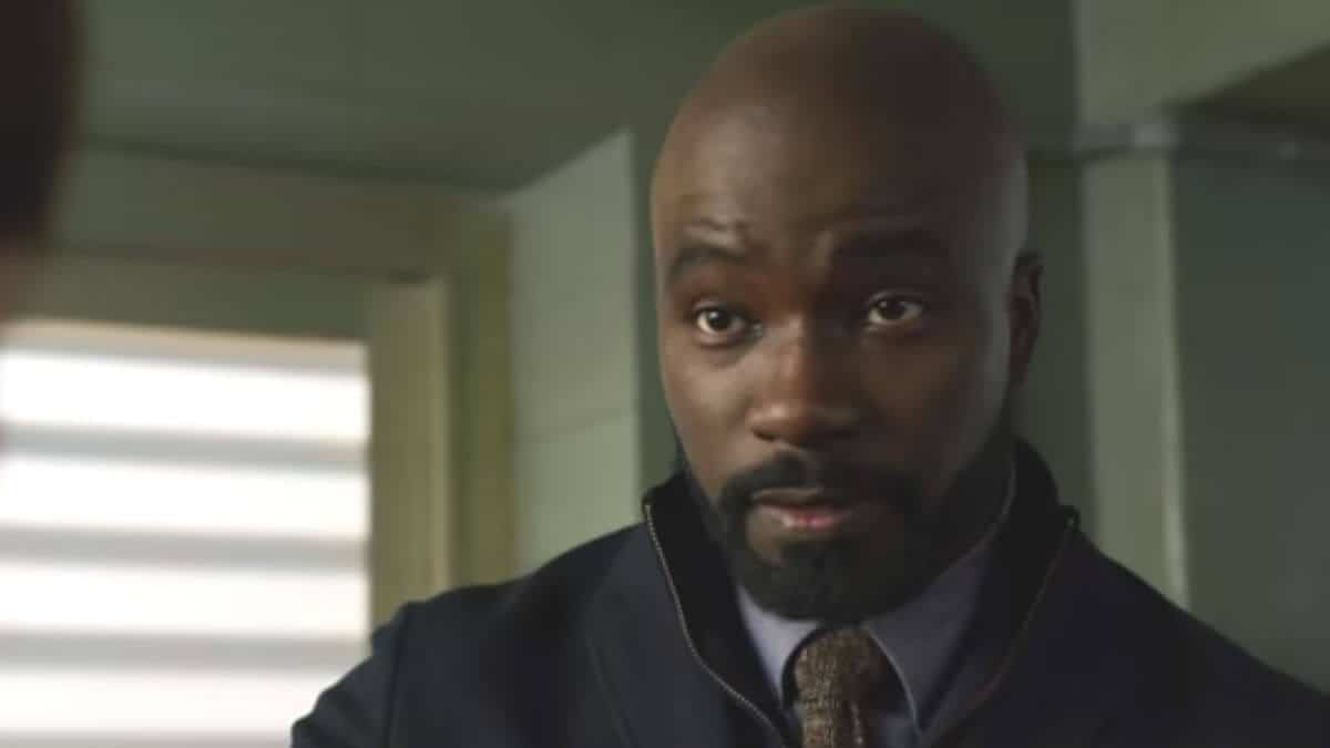 Mike Colter as David on Evil.
