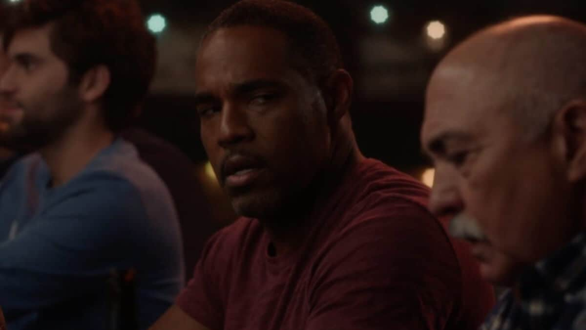 Ben Warren (played by Jason George) and Pruitt Herrera (Miguel Sandoval) on Grey's Anatomy