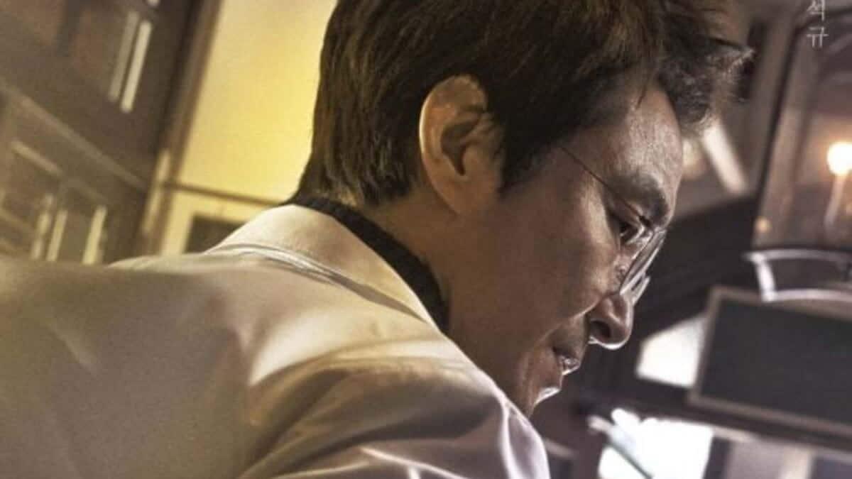 Han Suk-Kyu character promo poster for Dr. Romantic 2