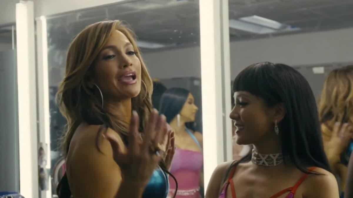A scene from Hustlers starring Jennifer Lopez