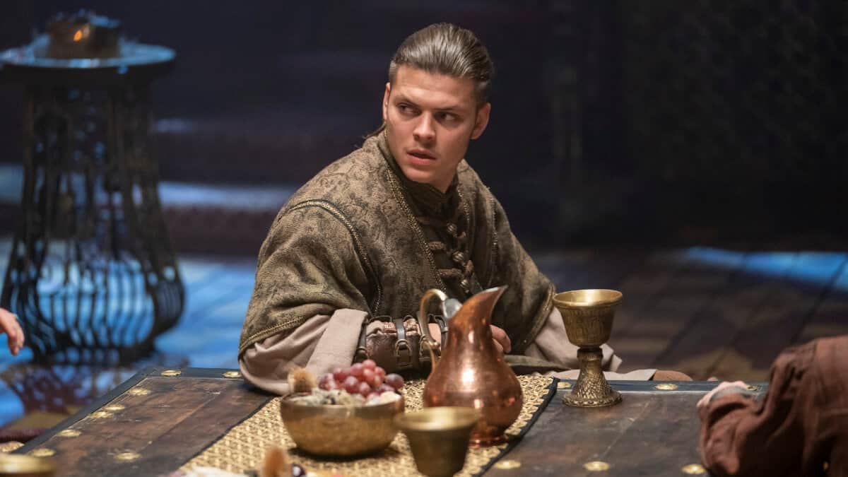 Alex Hogh Andersen stars as Ivar the Boneless
