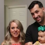 Jinger Duggar and her husband, Jeremy Vuolo and their daughter.