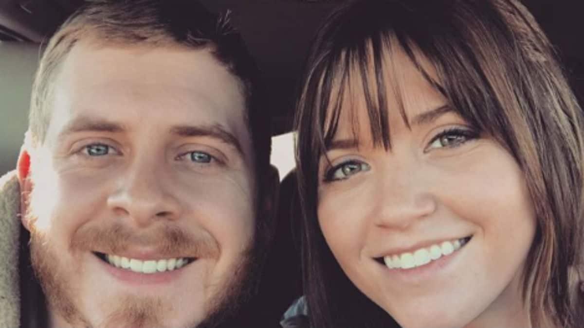 Austin and Joy-Anna selfie from Instagram.