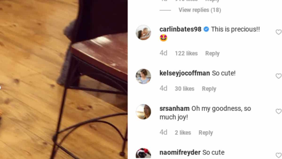 Comments from Joy-Anna's IG post.