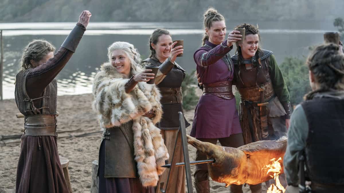 Lagertha and Shield Maidens