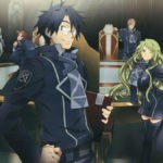 Log Horizon characters around the round table
