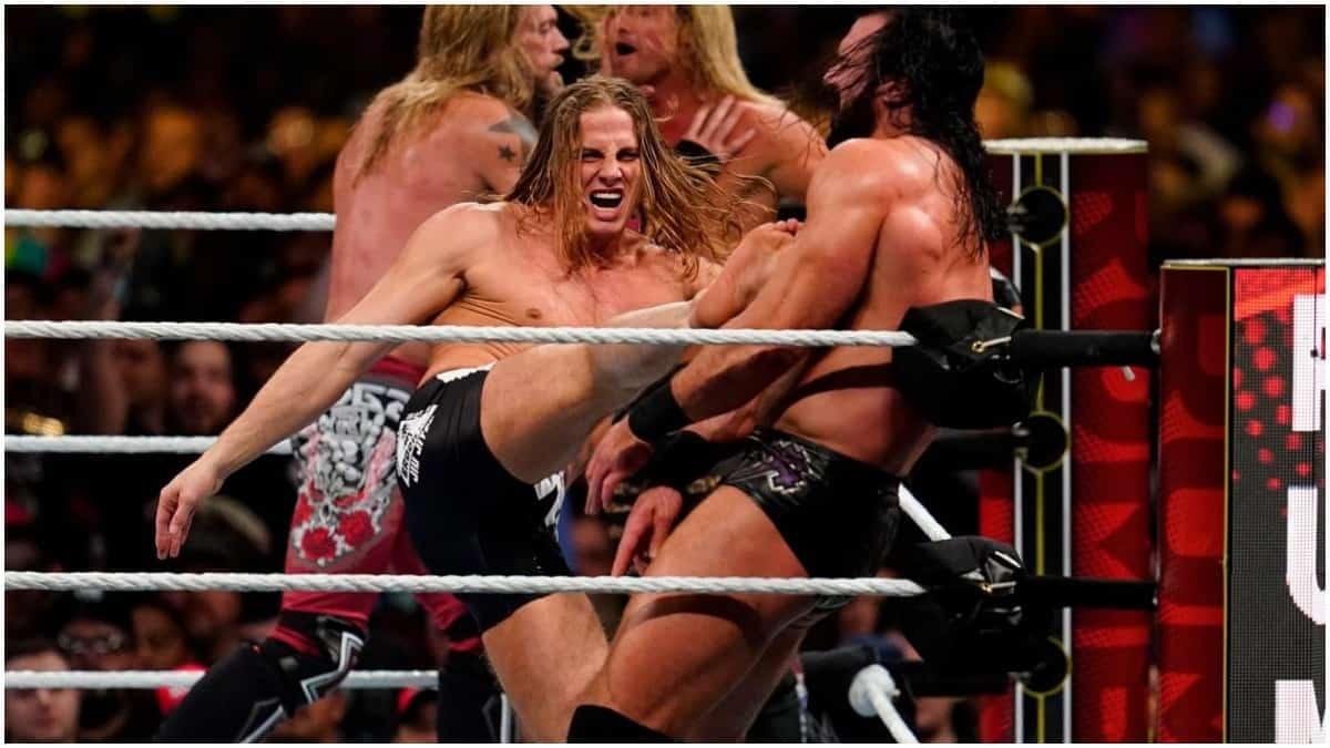 Matt Riddle and Brock Lesnar had altercation backstage at WWE Royal Rumble