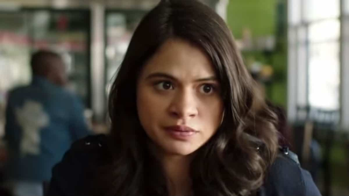 Melonie Diaz as Mel on Charmed.