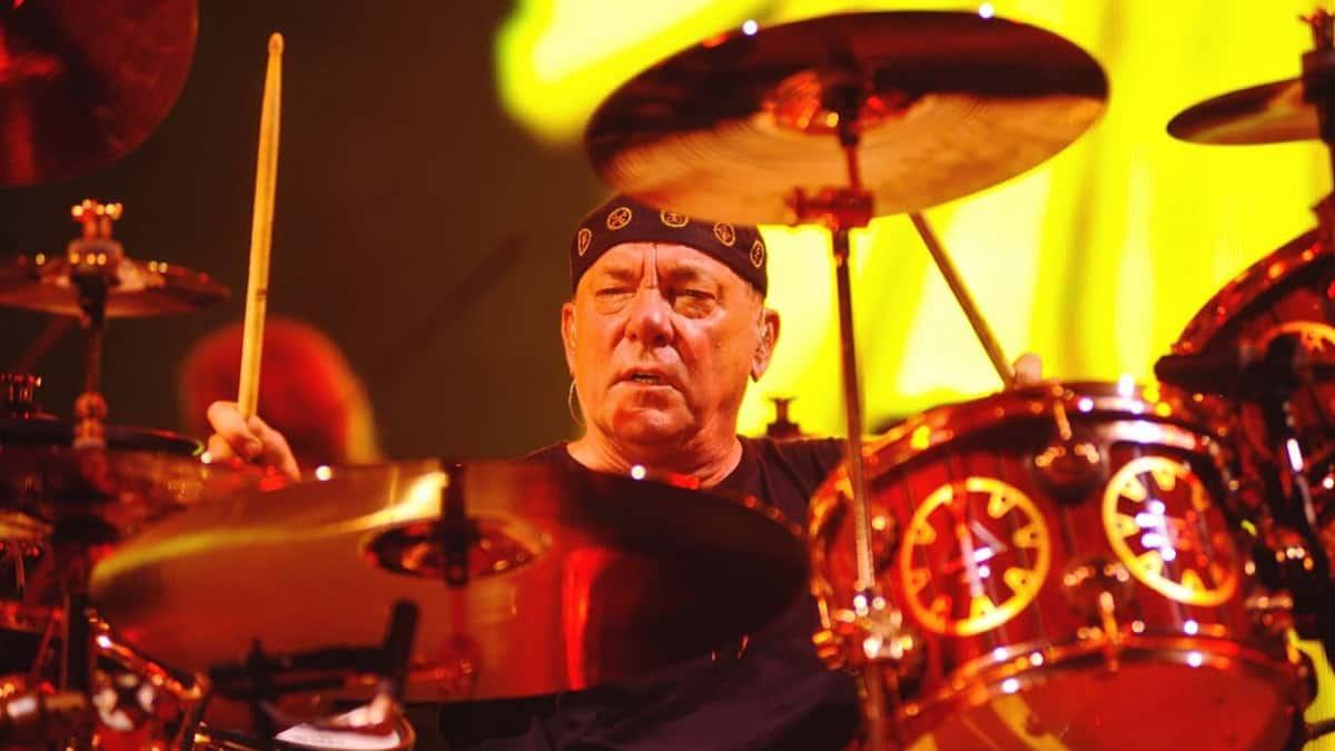 Rush drummer Neil Peart