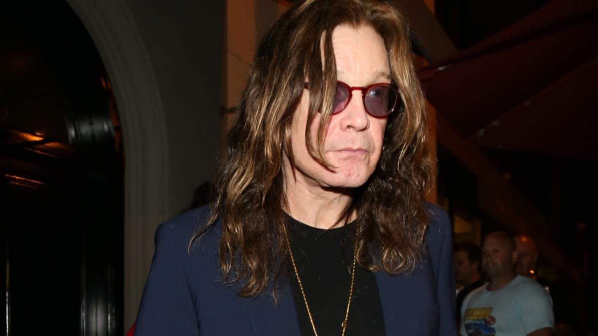 Ozzy Osbourne, former Black Sabbath lead vocalist