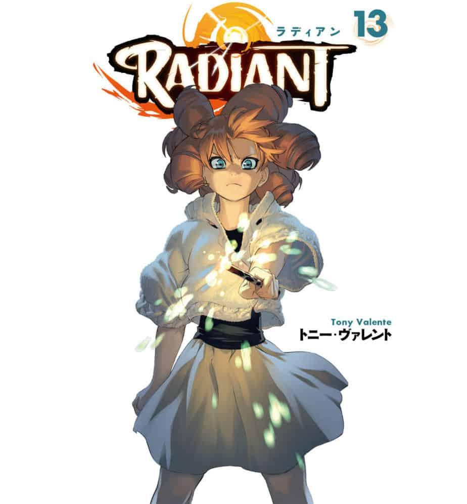 Radiant Manga Volume 13 Cover Art