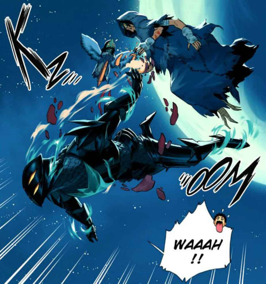 Radiant Mesnie Doc Pen Draig Armor Manga