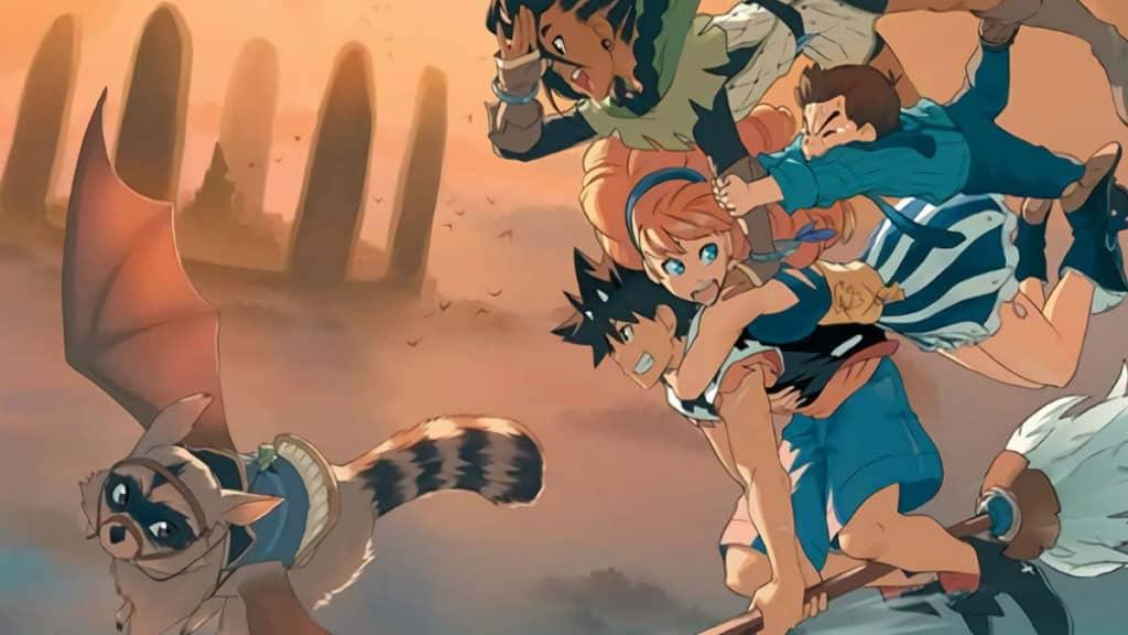 Radiant anime art