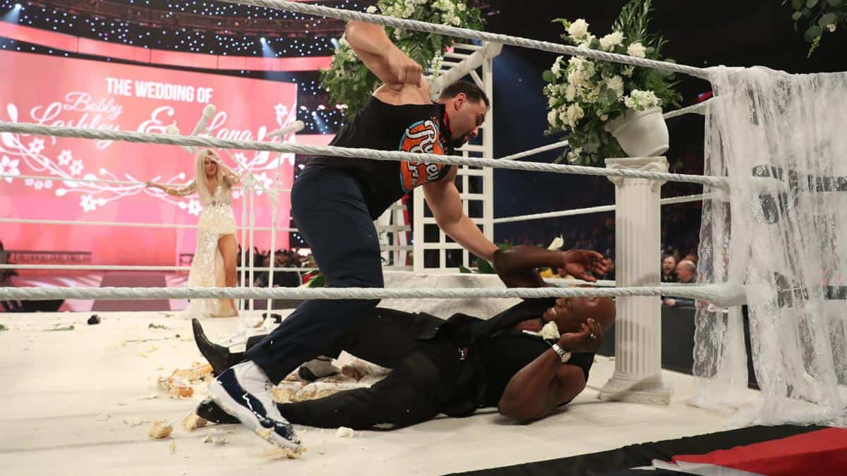 Rusev calls out WWE fans for negativity following Raw wedding angle
