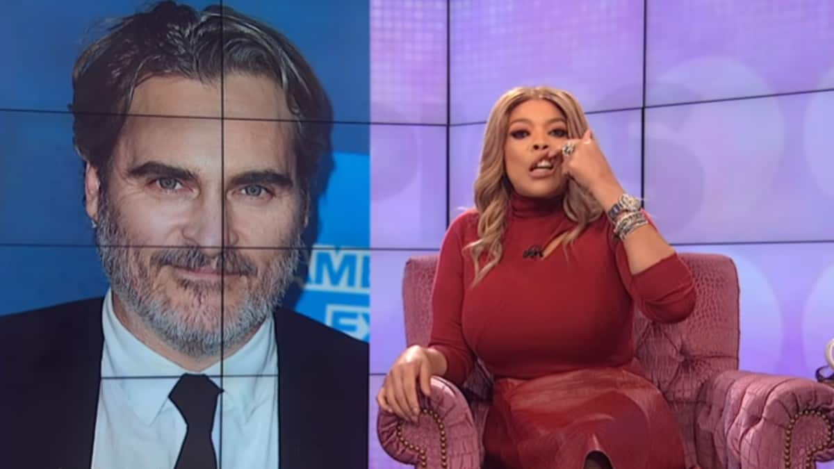 Wendy Williams mimicing a cleft lip