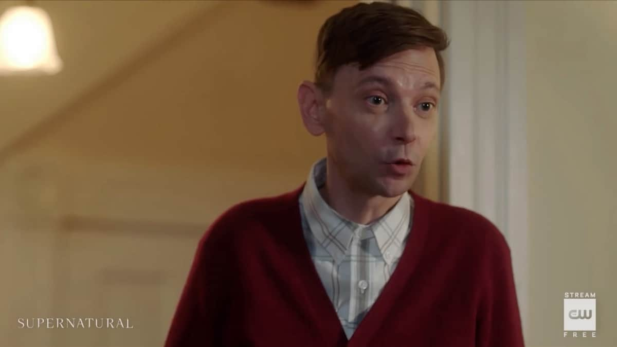 DJ Qualls guest stars as Garth on Supernatural season 15. Pic credit: The CW