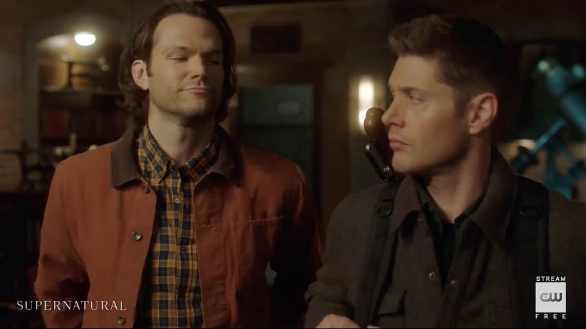Sam and Dean get ready for the move to Mondays on Supernatural. Pic credit: The CW