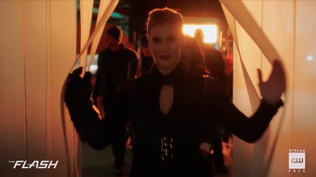 Katee Sackoff returns as Amunet Black on The Flash. Pic credit: The CW