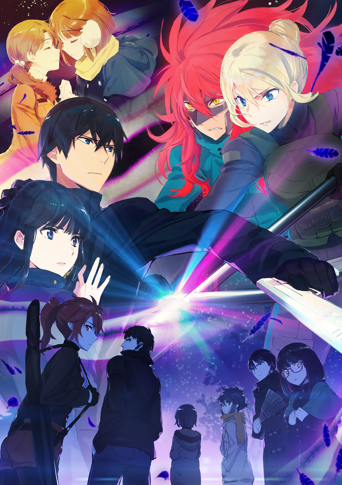 The Irregular at Magic High School Anime Season 2 Anime Key Visual Mahouka Koukou no Rettousei Season 2
