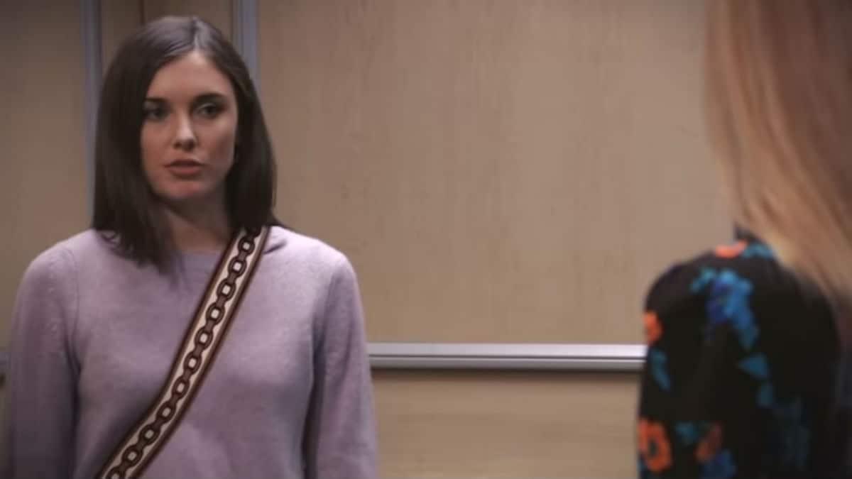 Katelyn MacMullen as Willow on General Hospital.