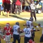 titans use trick play for dennis kelly touchdown