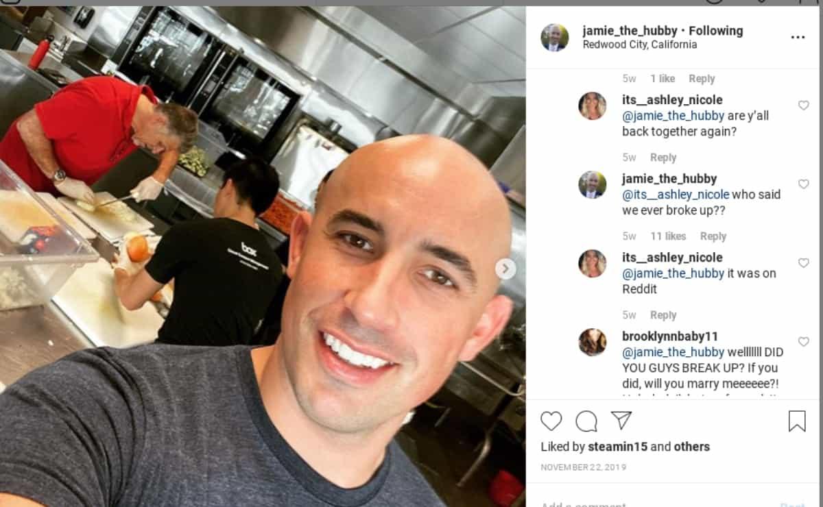 Jamie's Instagram