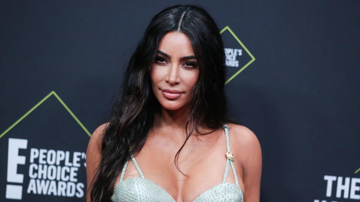 Kim Kardashian at the People's Choice Awards