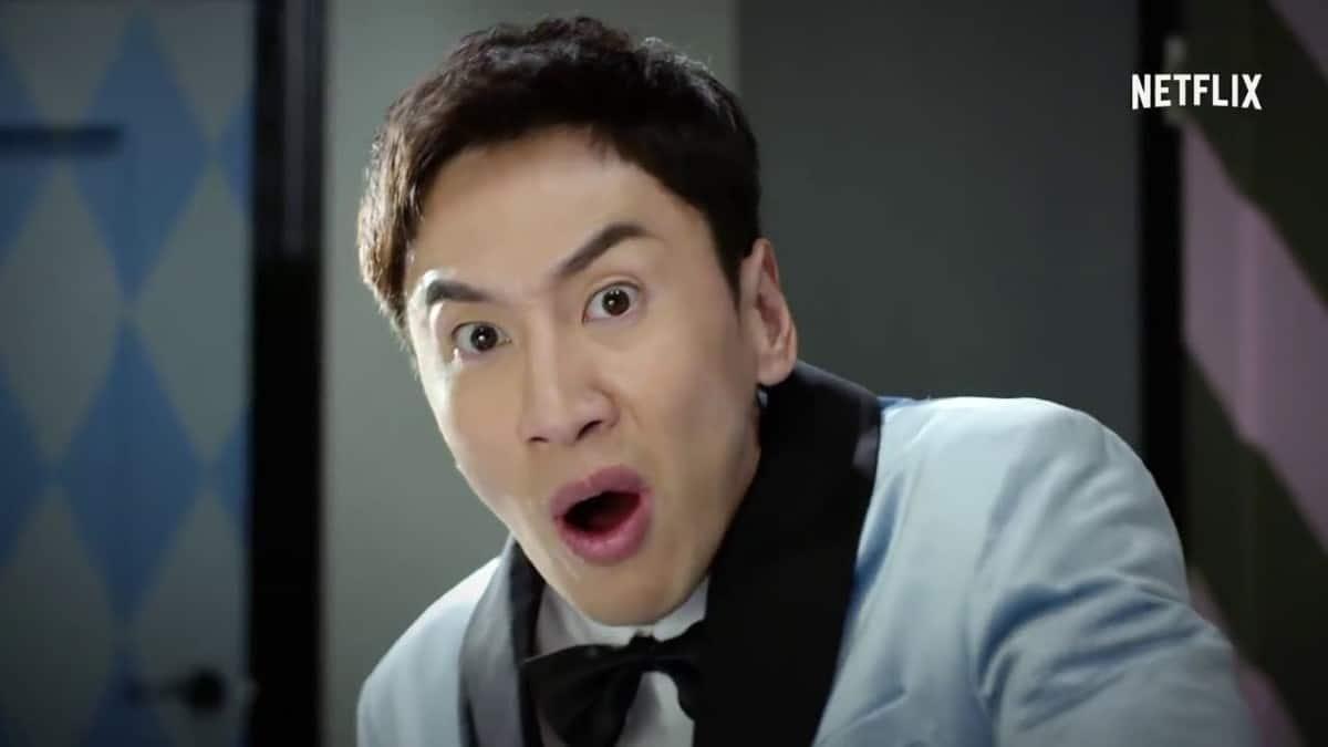 Lee Kwang-Soo in Busted!