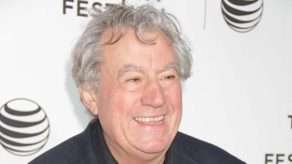 Terry Jones on the red carpet