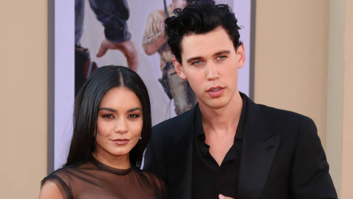 Vanessa Hudgens and Austin Butler on the red carpet