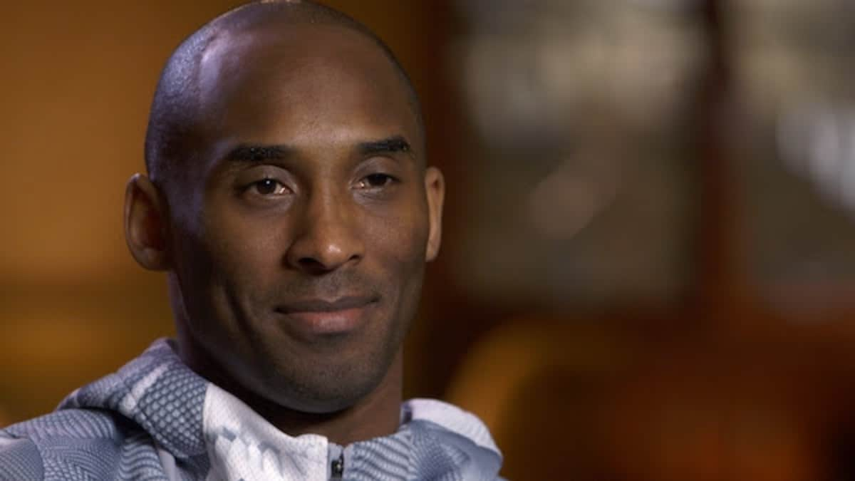 Kobe Bryant in an HBO Real Sports past interview - handout dated January 27, 2020. Pic credit: HBO.