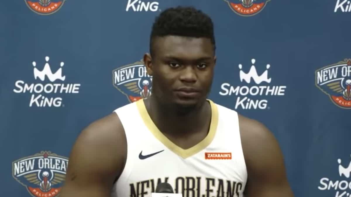 pelicans rookie zion williamson ready for regular season debut