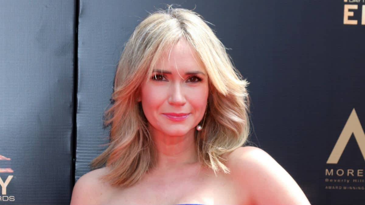 Ashley Jones at the 2019 Daytime Emmys.
