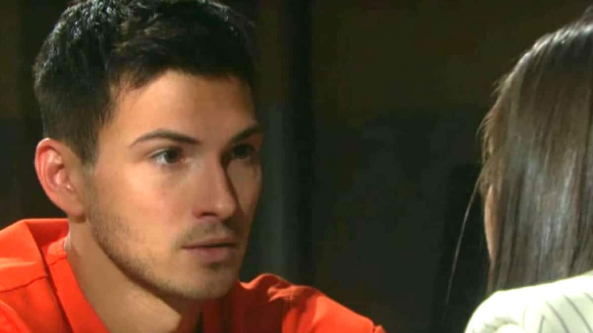 Ben breaks out of prison on Days of our Lives.