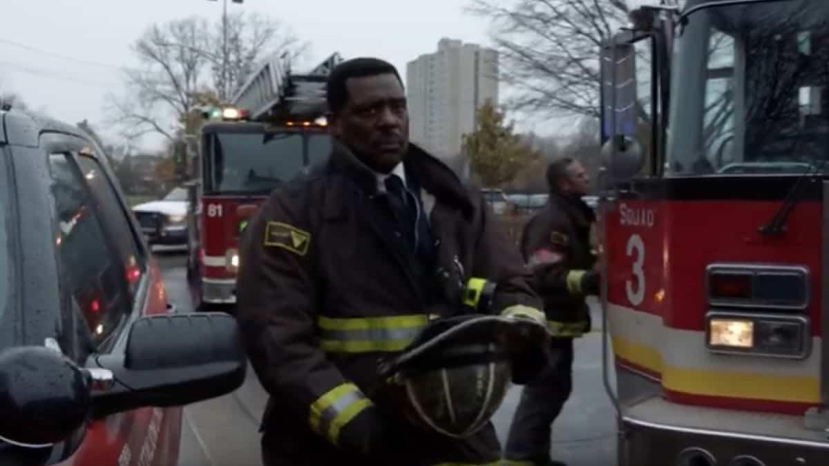 Eamonn Walker plays Wallace Boden on Chicago Fire