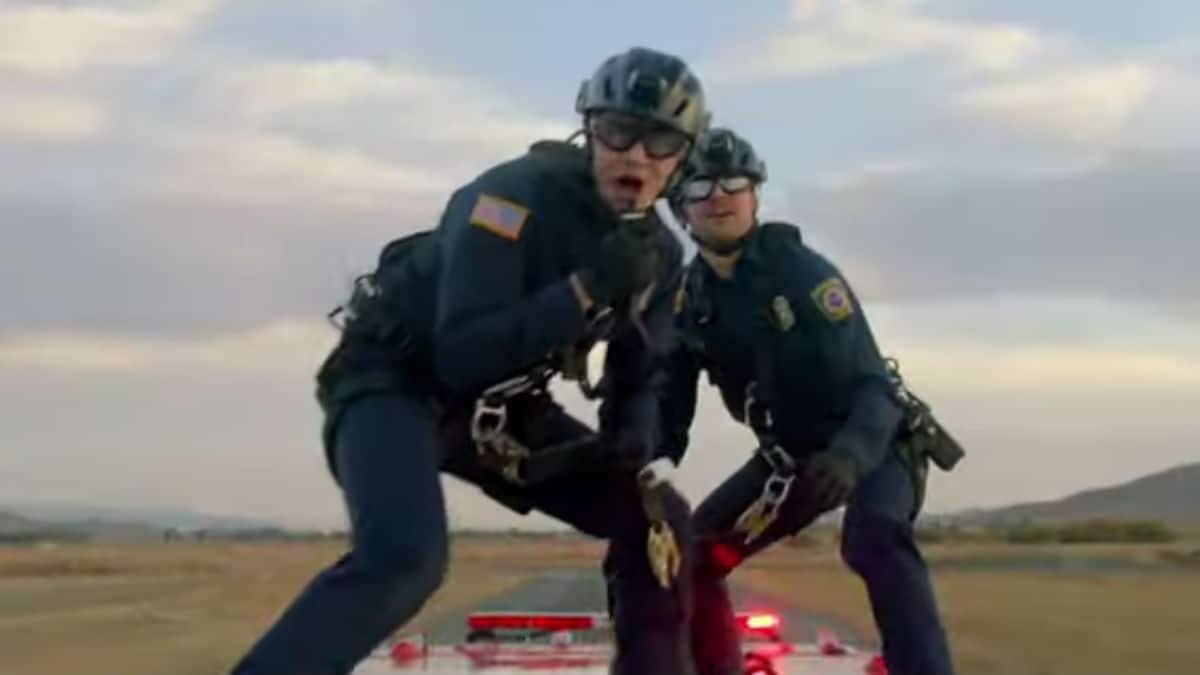 Oliver Stark and Ryan Guzman as Buck and Eddie on 9-1-1.