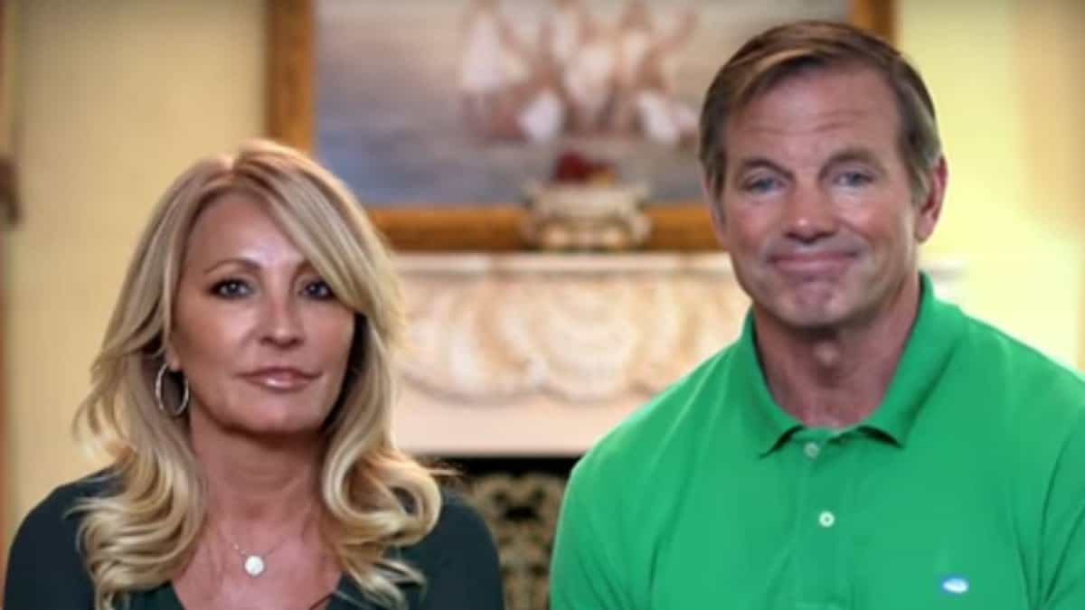 Christi and Billy Busch during a Busch Family Brewed confessional