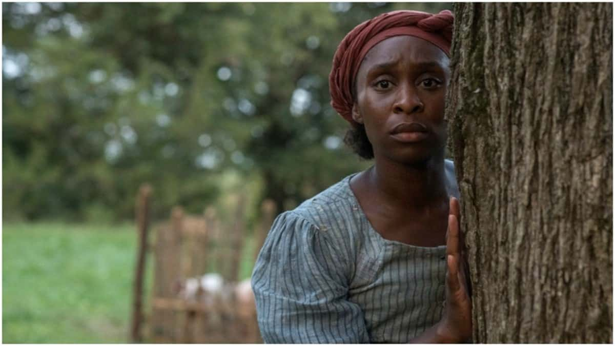 Cynthia Erivo in Harriet.