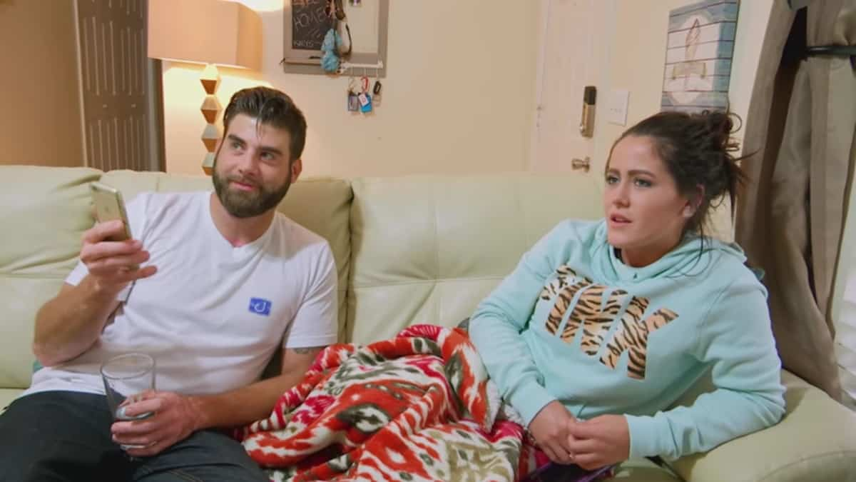 David Eason and Jenelle Evans on Teen Mom 2