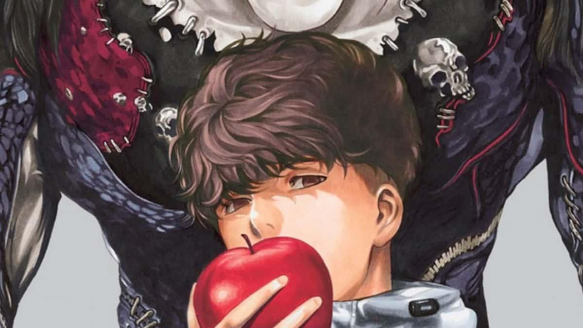 Death Note manga artwork