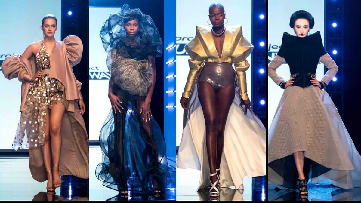 Avante garde looks from the top four designers on Project Runway