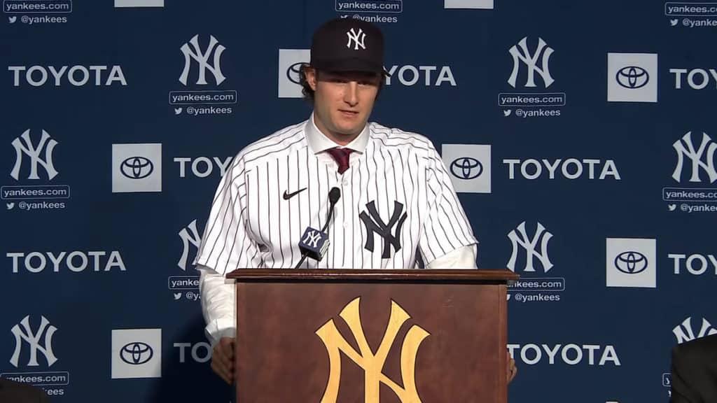Gerrit Cole Yankees
