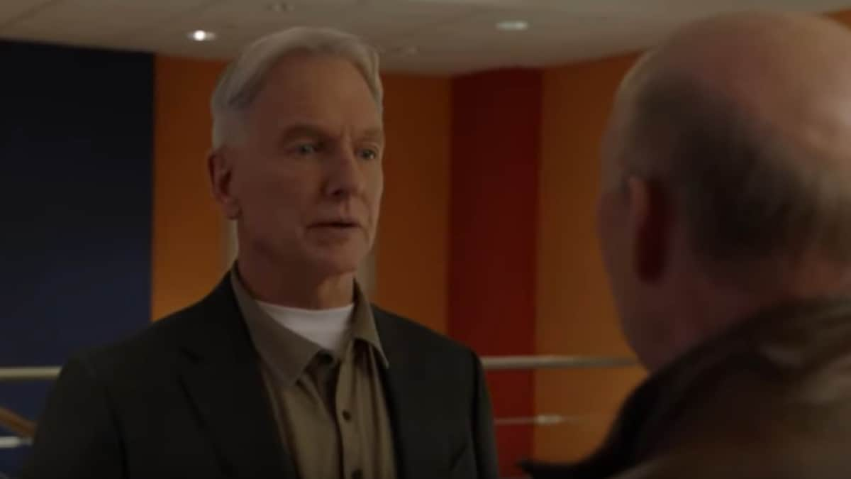Gibbs Friend on NCIS