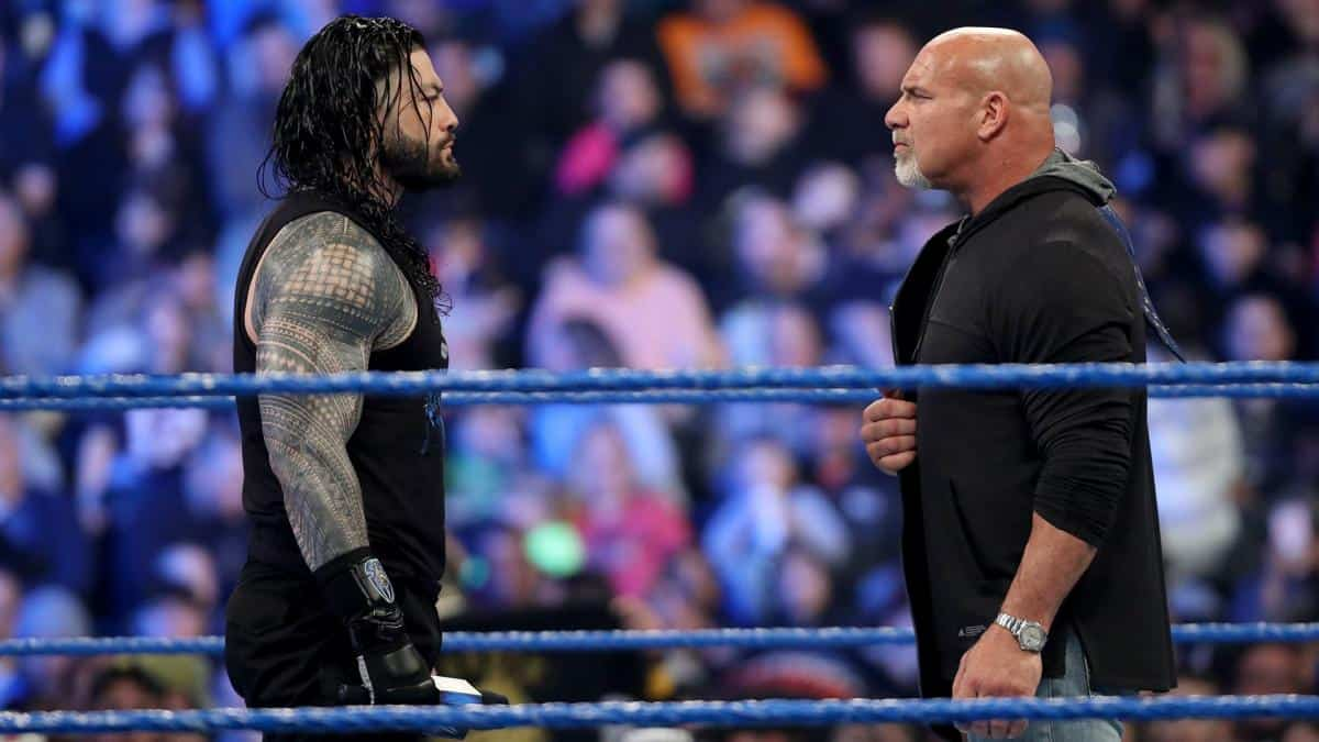 Roman Reigns lays down challenge to Bill Goldberg for WWE Universal Championship match at WrestleMania 36