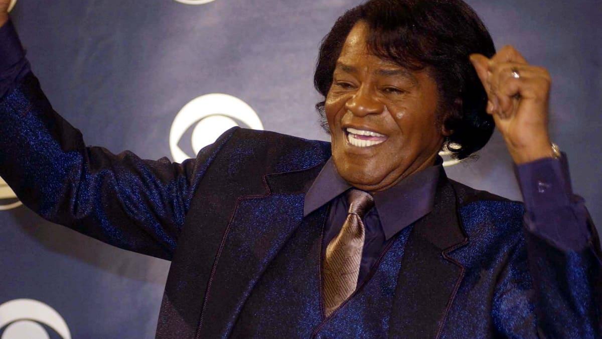 Singer James Brown