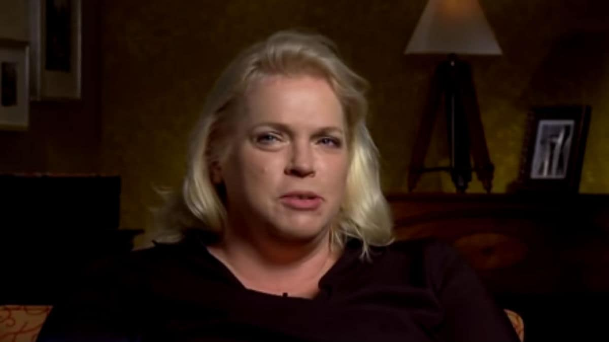 Janelle Brown during a Sister Wives confessional.