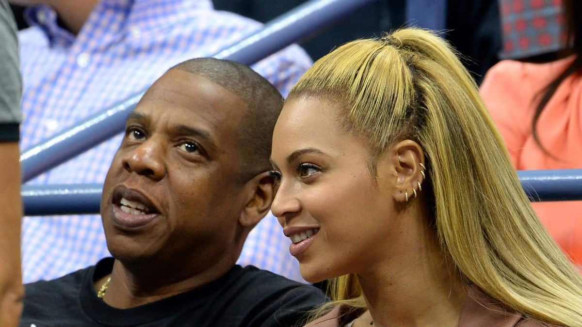 Beyoncé and Jay-Z Super Bowl national anthem drama.
