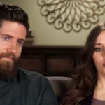 Ben Seewald and Jessa Duggar in a Counting On confessional.