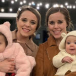 Jinger and Jessa Duggar with their baby girls.