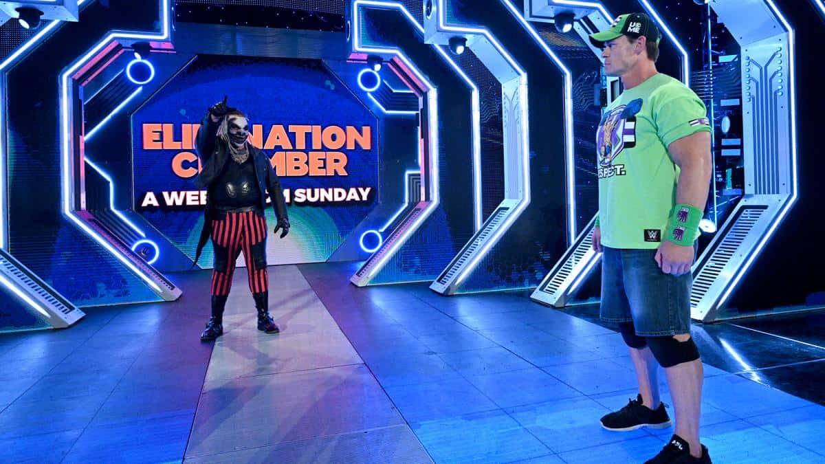 John Cena and The Fiend Bray Wyatt to battle at WWE WrestleMania 36